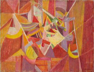 marie raymond - peinture histoire d espace 1948
