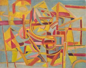 marie raymond - peinture sans titre 1946
