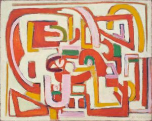 marie raymond - peinture sans titre ca 1948
