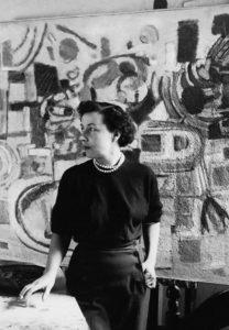 marie raymond - portrait atelier paris ca 1950