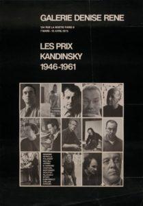marie raymond - prix kandinsky 1946 1961 galerie denise rene paris