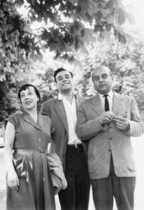 marie raymond - yves klein fred klein 1954 photography