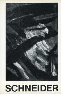 monograph gerard schneider - ragon 1961