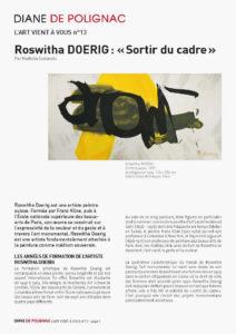 newsletter - roswitha doerig page fr