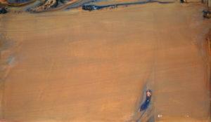 olivier debre - brune longue noire 1983 1984 newsletter l art vient a vous 7