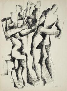 ossip zadkine - le retour du fils prodigue 1946 newsletter art vient a vous 9