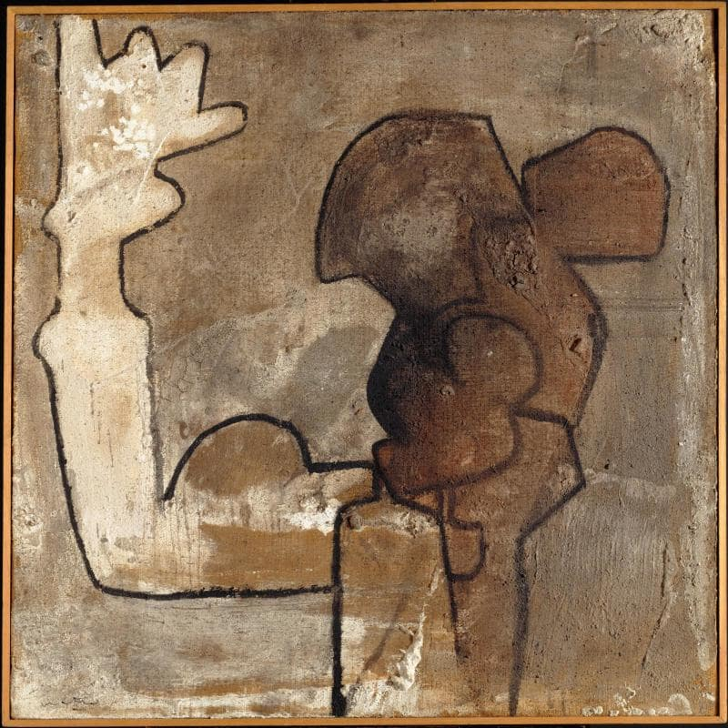 roberto matta - composition monochrome 1963 newsletter art comes to you 2