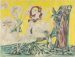 roberto matta - forms in a landscape 1937 newsletter art vient a vous 2