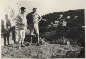 roberto matta - malitte panarea photography 1957 newsletter art comes to you 2
