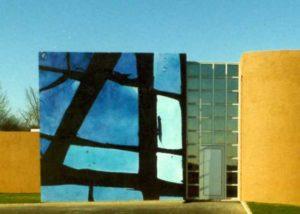 roswitha doerig - fresque le vitrail 1989