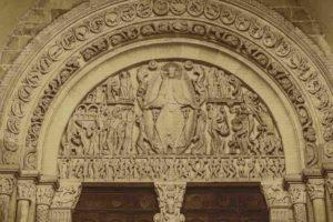 tympan du jugement dernier - cathedrale saint lazare autun 1140 1145 newsletter art vient a vous 3
