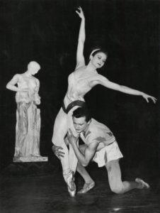 zizi jeanmaire - wladimir skouratoff c 1955 newsletter art comes to you 9