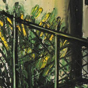 bernard buffet - 1997 la baume painting ddetail 3