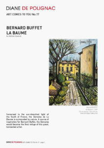 bernard buffet - la baume newsletter art comes to you 17