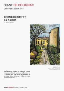 bernard buffet - la baume newsletter l art vient a vous 17