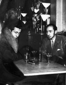 bernard buffet - maurice garnier chez constant rue de seine 1949