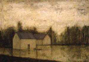 bernard buffet - painting inondation 1946