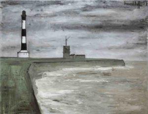 bernard buffet - painting phare et semaphore 1951
