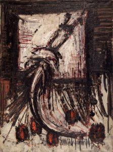 bernard buffet - painting raie 1958