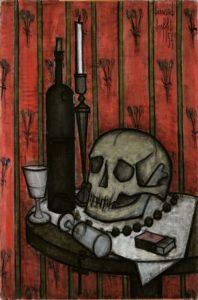 bernard buffet - painting vanite 1954