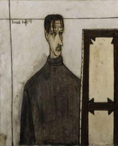 bernard buffet - peinture autoportrait 1949