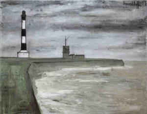 bernard buffet - peinture phare et semaphore 1951