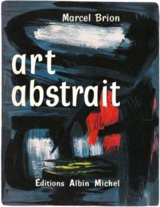 gerard schneider - book art abstrait marcel brion 1956