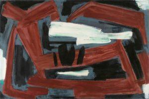 gerard schneider - opus 23 b painting 1953