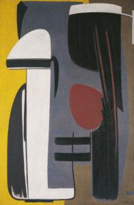 gerard schneider - opus 360 1948 painting