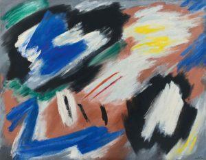 gerard schneider - opus 50 b painting 1953