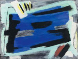 gerard schneider - opus 63 b painting 1954