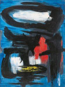 gerard schneider - opus 87 b painting 1955
