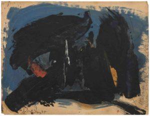 gerard schneider - paper untitled 1947