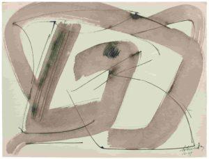 gerard schneider - paper untitled 1949 3