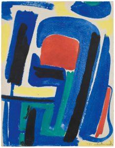 gerard schneider - paper untitled 1951 2