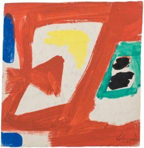 gerard schneider - paper untitled 1951 3