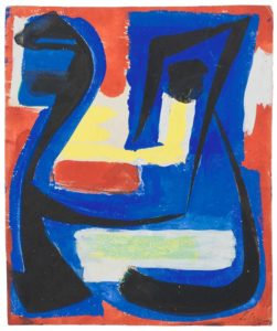 gerard schneider - paper untitled 1951 4