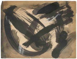 gerard schneider - paper untitled 1952