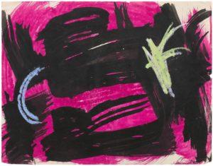 gerard schneider - paper untitled 1954 1