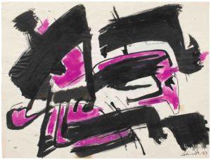gerard schneider - paper untitled 1954 4