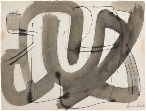 gerard schneider - papier sans titre 1949 1