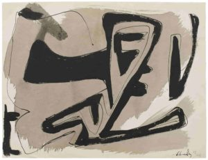 gerard schneider - papier sans titre 1949 5