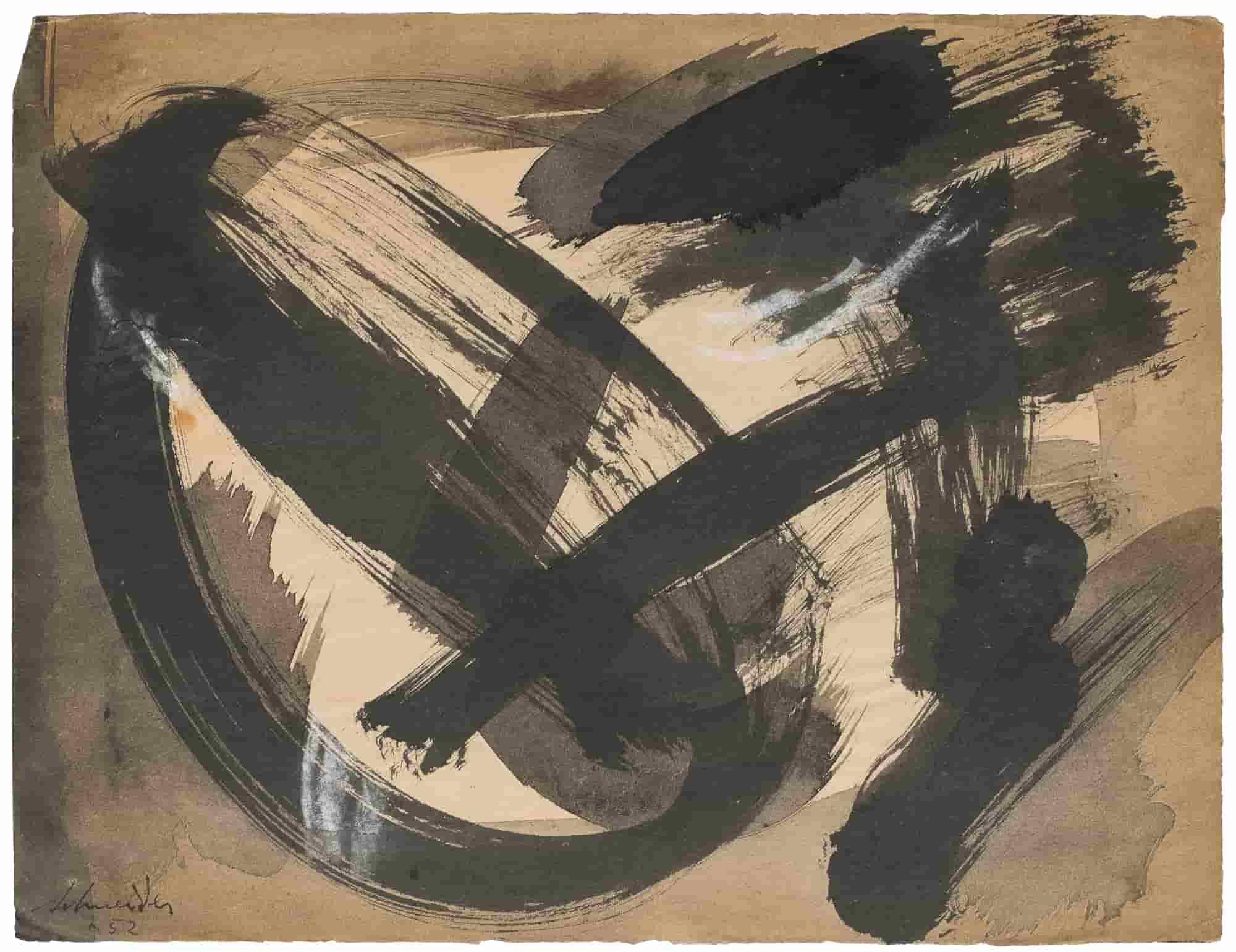 Sans titre, 1952