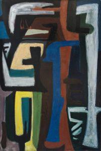 gerard schneider - peinture opus 321 1948 ca