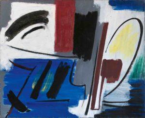 gerard schneider - peinture opus 494 1952 ca