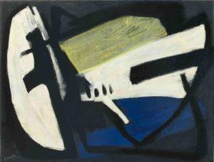 gerard schneider - peinture opus 507 1952