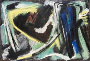 gerard schneider - peinture opus 65 b 1954