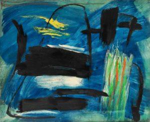 gerard schneider - peinture opus 89 b 1955