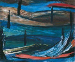 gerard schneider - peinture paysage imaginaire 1937 1939