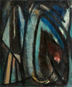 gerard schneider - peinture sans titre 1945